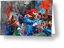 Mardi Gras 242  Greeting Card