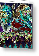 Mardi Gras Greeting Card
