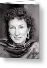 Margaret Atwood Greeting Card