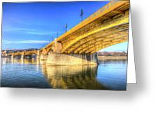 Margaret Bridge Budapest Greeting Card