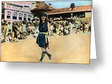 Margaret Gorman, 1921 Greeting Card
