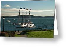 Margaret Todd - Bar Harbor Icon Greeting Card