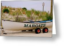 Margate Beach Greeting Card