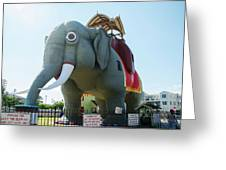 Margate New Jersey - Lucy The Elephant Greeting Card