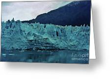 Margerie Glacier - Reflection Greeting Card
