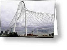 Marget Hunt Bridge Greeting Card