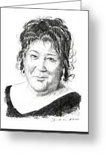 Margo Martindale Greeting Card