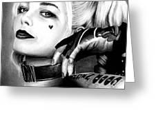 Margot Robbie  Greeting Card