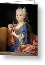 Maria Anna Victoria Of Bourbon. The Future Queen Of Portugal Greeting Card
