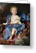 Maria Antonia Fernanda De Borbon. Infanta Of Spain. Future Queen Of Sardinia Greeting Card