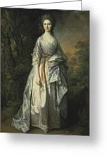 Maria Lady Eardley, 1766 Greeting Card