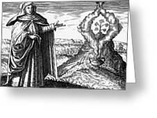 Maria The Jewess, First True Alchemist Greeting Card