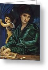 Maria Zambaco 1870 Greeting Card