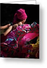 Mariachi Dancer 4 Greeting Card
