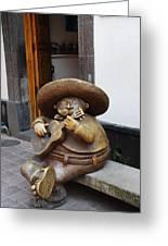 Mariachi Sculpture Greeting Card