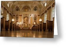 Marianische Mannerkongregation Munich Greeting Card