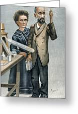 Marie And Pierre Curie Greeting Card