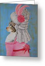 Marie Catoinette Greeting Card