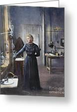Marie Curie (1867-1934) Greeting Card