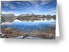 Marie Lake - John Muir Trail Greeting Card