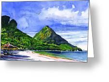 Marigot Bay St Lucia Greeting Card