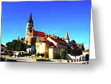 Marija Bistrica Croatia Greeting Card
