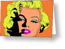 Marilyn-3 Greeting Card