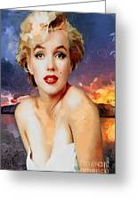 Marilyn Hotty Totty Greeting Card