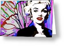 Marilyn In Love Greeting Card