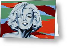 Marilyn Monroe 1 Greeting Card