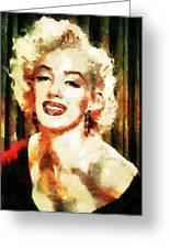 Marilyn Monroe Greeting Card