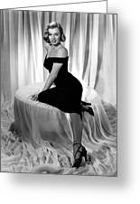 Marilyn Monroe Publicity Shot The Asphalt Jungle Greeting Card