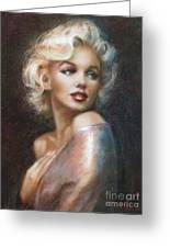 Marilyn Ww Soft Greeting Card