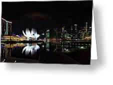 Marina Bay Sands Greeting Card
