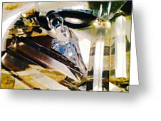 Marina Del Ray In Abstract Greeting Card