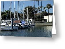 Marina Del Rey California 2 Greeting Card