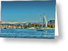 Marina Del Rey Channel Greeting Card