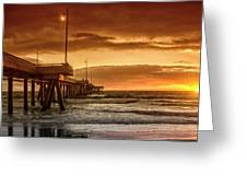 Marina Del Rey Greeting Card