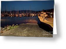 Marina Nightlights Greeting Card