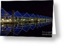 Marina Reflected Greeting Card