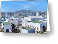 Marina Rubicon - Lanzarote Greeting Card