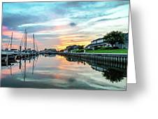 Marina Walk To Hemingway's Greeting Card