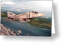 Marine Phantom Greeting Card