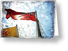 Mariners Flag Greeting Card