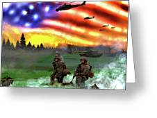 Marines Greeting Card