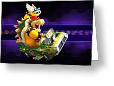 Mario Kart Wii Greeting Card