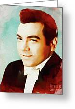 Mario Lanza, Hollywood Legend Greeting Card