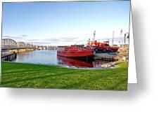 Maritime Springtime Greeting Card