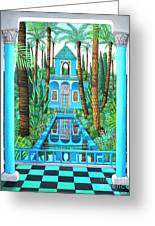 Marjorelle Reflections Greeting Card