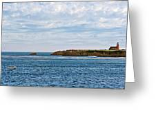 Mark Abbot Memorial Lighthouse - Lighthouse On The Beach - Santa Cruz Ca Usa Greeting Card by Christine Till
